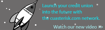 Launch your credit union into the future with the cuasterisk.com network.