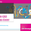 Don't Miss CEO Strategies 2016!