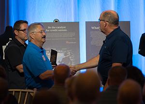 Dennis D. Degenhardt, CEO Glacier Hills CU LC2017, Robert H. Mackay Leadership Award