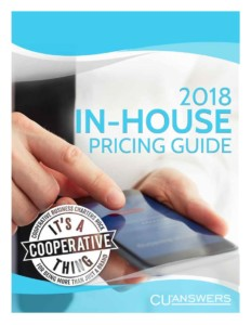 2018 In-House Pricing Guide Image