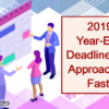 Don't Forget, Your First Year-End Deadline is Friday, November 8