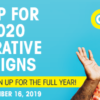 Don't Forget to Sign Up for the 2020 Cooperative Campaigns!
