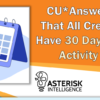 CU*Answers Announces That All Credit Unions Now Have 30 Days' Worth of Card Activity Optics Data