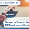 A Note from SettleMINT EFT: Changes to Visa and Mastercard BIN Requirements Coming 2022