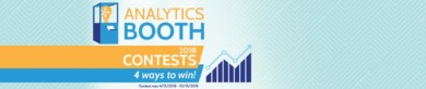 Check out the Analytics Booth Contests!
