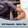 Quick Tips on ACH Deposits from the Social Security Administration