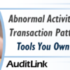 Abnormal Activity Monitoring for Transaction Patterns – Using The Tools You Own to Mitigate Risk
