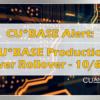 CU*BASE Production Server Rollover Alert