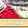 AuditLink – Keep Pace with Daily Expectations