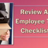 Review AuditLink's Employee Termination Checklist for FREE