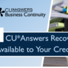 FREE! CU*Answers Recovery Test Reports Available to Your Credit Union