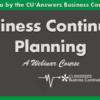 BusinessContinuityPlanning