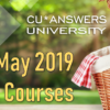 Take a Look at the CU*Answers University Courses for May!