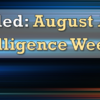CANCELLED: August Asterisk Intelligence Week