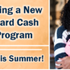 Announcing a New Credit Card Cash Back Program!