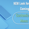 Customization Options in the New Online Banking: Menu Navigation