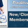 Jump into a Dashboard Dive: New/Closed/All Memberships