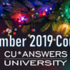Take a Look at the CU*Answers University Courses for December!