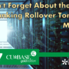Don't Forget About the Online Banking Rollover Tomorrow Morning!