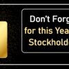 Don't Forget to Register for this Year's All-Digital Stockholders Meeting!