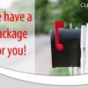 We have a package for you!