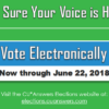 Time to Vote in the 2018 Elections!