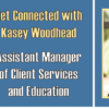 Get Connected with Kasey Woodhead