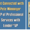 Get Connected with Pete Winninger