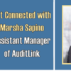Rescheduled: Get Connected with Marsha Sapino