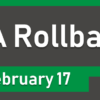 Rollback from HA Scheduled for Sunday Morning, 2/17/2019