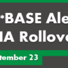 CU*BASE HA Rollover Updates for September 23