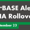 CU*BASE HA Rollover Updates for September 23