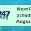 Next Rollover for It's Me 247 Scheduled for August 13-14