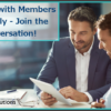 Working with Members Remotely – Join the Conversation!