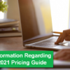 Important Information Regarding the Xtend 2021 Pricing Guide