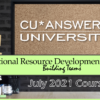 Check Out the ORD University Courses for July!
