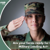Lender*VP Forms is ready to assist with Military Lending Act (MLA) credit card form changes