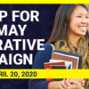Don't Forget to Sign Up for the May Cooperative Campaign