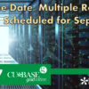 Save the Date: ItsMe247 and CU*BASE GOLD Rollovers Scheduled for September