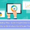 Join us for a My CU Today Plus Conference – Analyze Certificate Portfolio