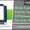 Video Now Available – NCUA Supervisory Priority Report 2020: CU*Answers Management Services Response