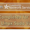 A Note from Network Services: Patching Completed for the Recent UNIX and Linux Sudo Vulnerability