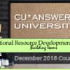 Check Out the ORD University Courses for December!