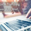 Operational Trending Wherever You Are!