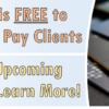 Paywatch is FREE to Payveris Bill Pay Clients – Join our Upcoming Webinar to Learn More!
