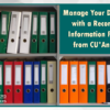Manage Documents with a Records and Information Program from CU*Answers!