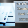 Arriving in October: Randomization for Card Numbers and Expiration Dates