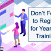 Don't Forget to Register for Year-End Training!