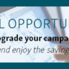 Don't miss out – sign up to save on campaigns for 2019!