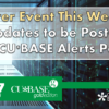 Rollover Event This Weekend – Updates to be Posted on CU*BASE Alerts Page